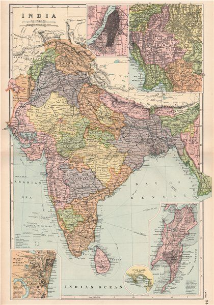British India Calcutta Burma Madras Bombay Battles Dates Railways